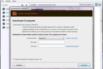 Come convertire file ePub in PDF