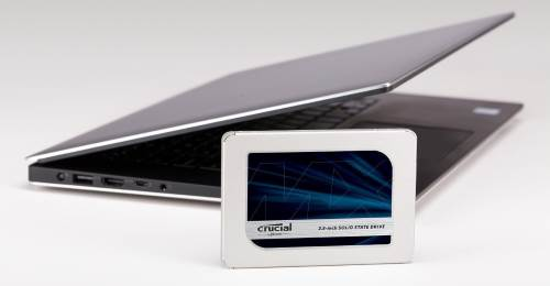 Crucial MX500 1TB SSD notebook