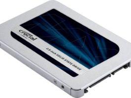 Crucial MX500 1TB SSD recensione