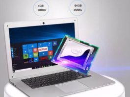 Jumper Ezbook 2 Intel Cherry Trail X5 Z8350 notebook