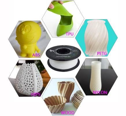 Materiali e progetti stampante 3D