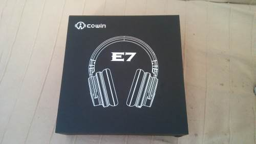 COWIN E7 unboxing
