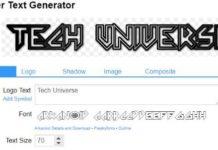 Creazione logo tech universe