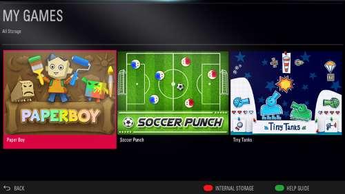Giochi Smart TV