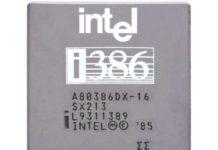 Il mio primo computer Intel 80386