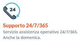 Supporto telefonico hosting