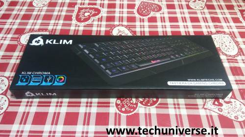 Klim Chroma scatola unboxing