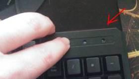 Tasto illuminazione a LED tastiera