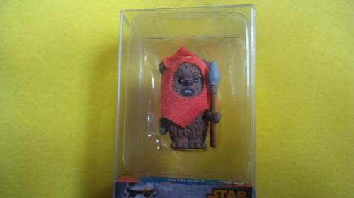 Wicket Star Wars scatola e unboxing