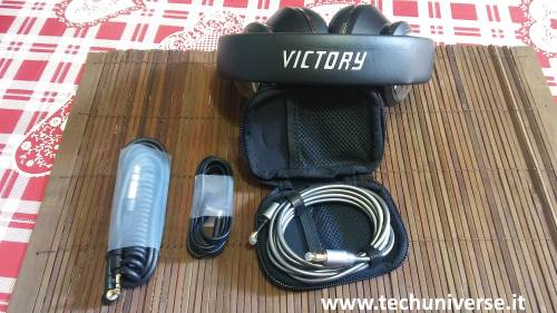 Bundle cuffie Bluedio Victory