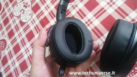 Imbottitura cuffie Bluetooth