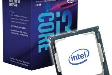 Intel Core i3-8100 recensione processore