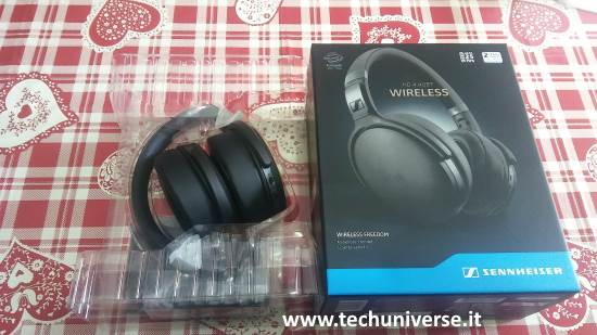 Sennheiser HD 4.40 BT scatola unboxing