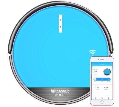 Aspirapolvere Robot Proscenic 811GB Intelligente Blu