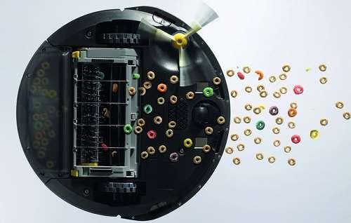 Aspirapolvere robot: Funzione di aspirazione della sporcizia