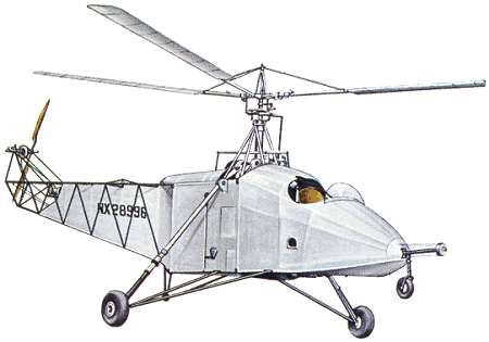 Primo elicottero della storia, il Sikorsky VS-300