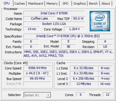 i7-8700K e RAM G.Skill Sniper X
