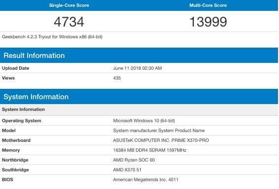 AMD Ryzen 3 2300X