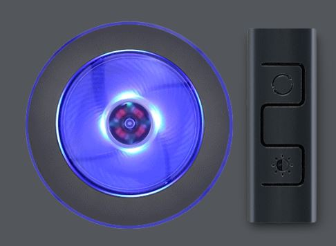 Controller illuminazione a LED RGB dissipatore