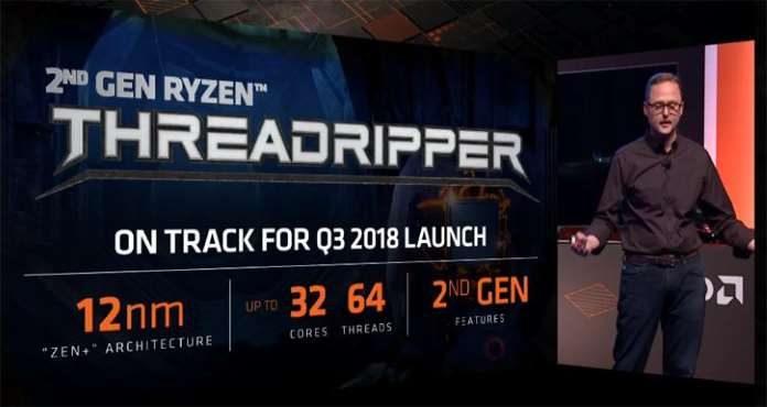 Nuovi processori AMD Ryzen Threadripper a 32 core