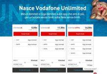 Vodafone Unlimited - Offerte con minuti e traffico illimitato
