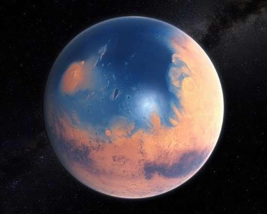 Come era Marte