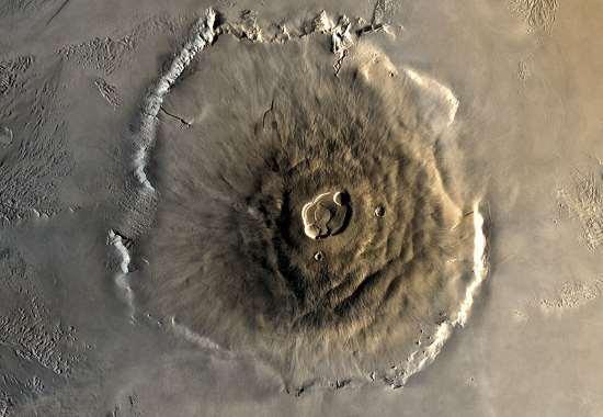 Olympus Mons vulcano di Marte