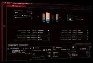 Overclock processore via software della scheda madre Asus