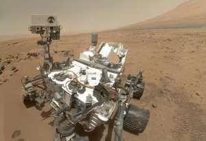 Rover Curiosity della NASA su Marte