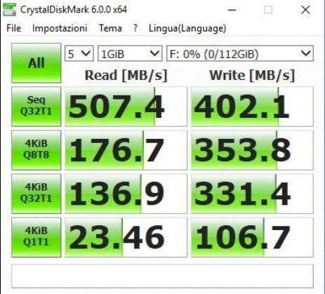 SSD Transcend TS480GSSD220S prestazioni