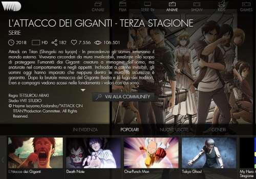 VVVVID per vedere film e serie TV in streaming gratis