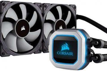 Corsair H100i PRO RGB recensione dissipatore a liquido illuminazione a LED RGB