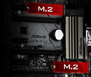 Dual SSD M.2 scheda madre Asrock Z370 Pro4 recensione