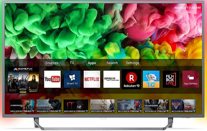 Philips 43PUS6753 recensione smart TV