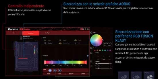 RGB Fusion: Software per sincronizzare l'illuminazione a LED
