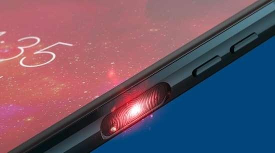 Scanner impronte digitali smartphone Motorola