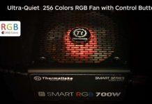 Thermaltake Smart RGB recensione alimentatori per PC con illuminazione a LED