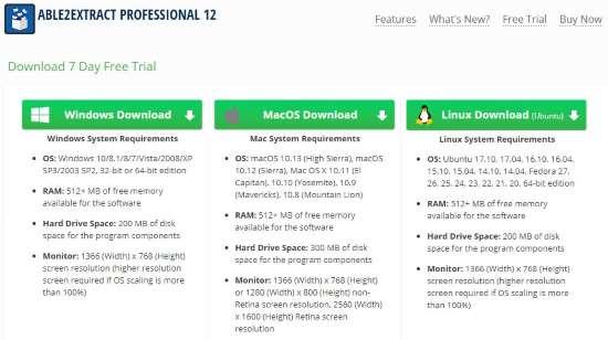Able2extract professional 12 versione di installazione