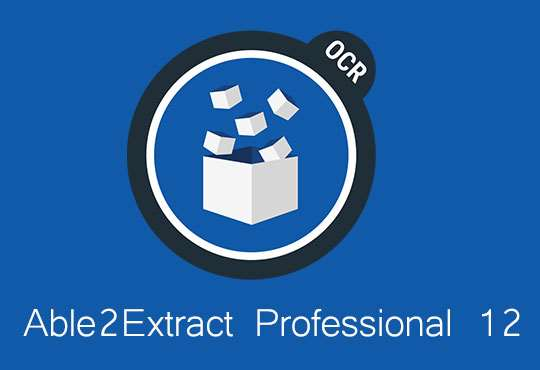 Able2extract professional 12: Converte file PDF in Excel