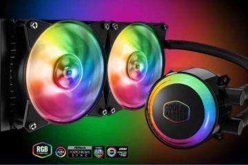 Cooler Master Masterliquid ML240R RGB recensione dissipatore a liquido, opinioni e prezzo.