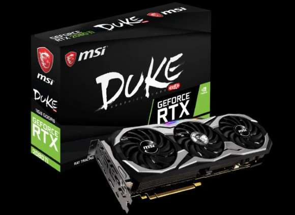 MSI GeForce RTX 2080 Ti DUKE