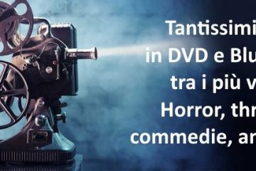Tantissimi film in DVD e Blu-Ray: Classifiche per i generi più visti.
