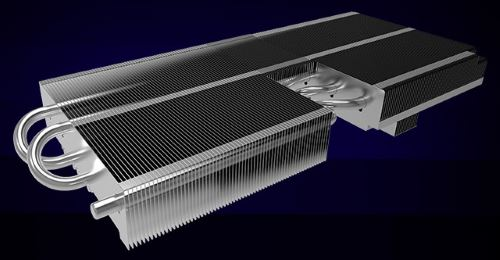 Dissipatore di calore scheda video Asus RTX 2080 ROG