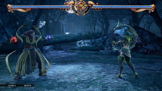 Inizio combattimento Soulcalibur VI