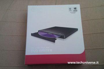 LG GP57EB40 masterizzatore DVD e CD esterno USB Slim
