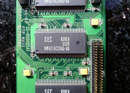 Memoria video VRAM
