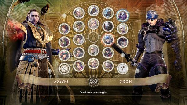 Personaggi del roster di Soulcalibur 6