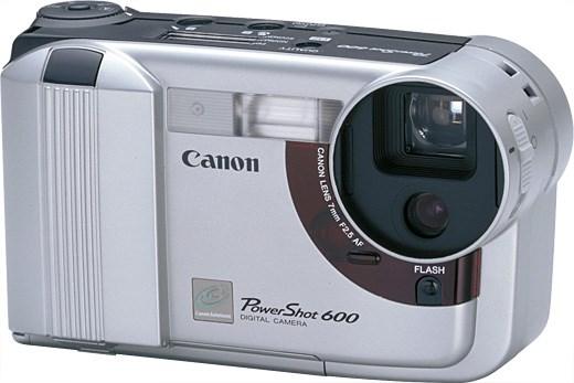PowerShot 600 - La prima fotocamera digitale della Canon