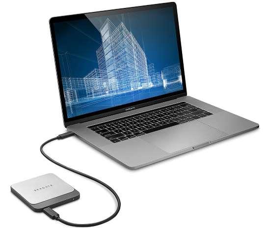 Seagate Fast SSD 1TB esterno recensione, prezzo e prestazioni