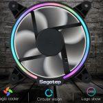 Segotep - Ventole per case da 120mm con illuminazione RGB